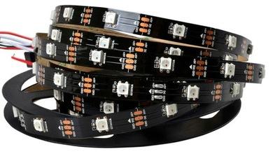ADRESOWALNA TAŚMA LED WS2812B 30d/m IP20 cyfrowa