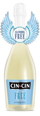 CIN&CIN FREE вино белое Полусладкое BEZALKOHOL