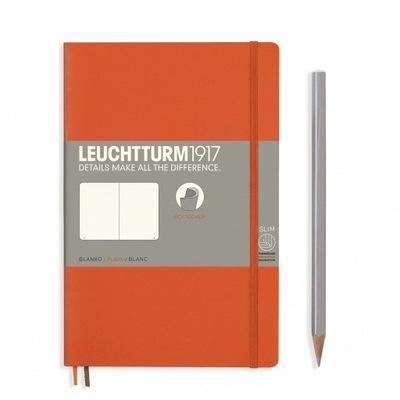 Notatnik Leuchtturm1917 Paperback B6+, Gładki, Pom