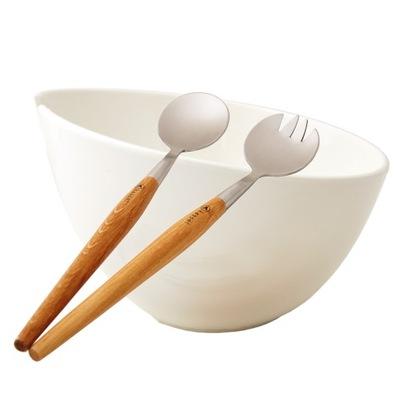 миска ??? сервировки салатов с банными фарфор