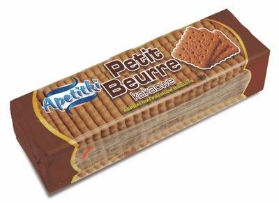 Apetitki Печенье Petit хорошим свежим маслом Какао 200г