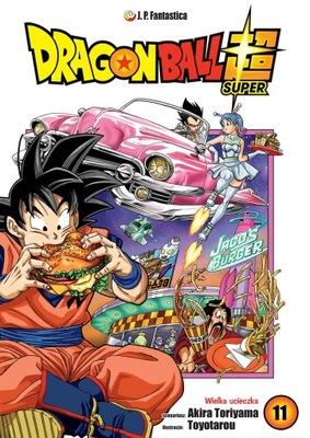 DRAGON BALL SUPER 11 manga NOWA PO POLSKU JPF