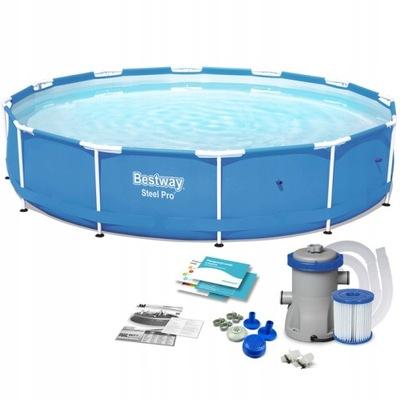 Bazén pre rack montáž Záhrada Najlepšie Kolo 56681 366x76