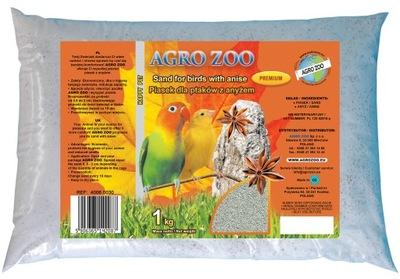 Песок анисом для птиц из muszelkami 1 кг