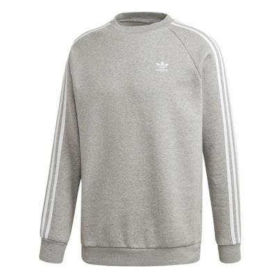 Bluza Crewneck Longsleeve Adidas Niebieska
