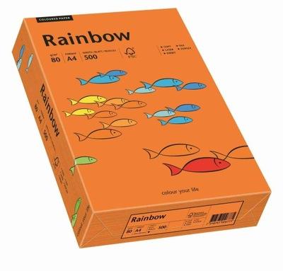 Papier ksero Rainbow A4 80g ciemny pomarańcz R26
