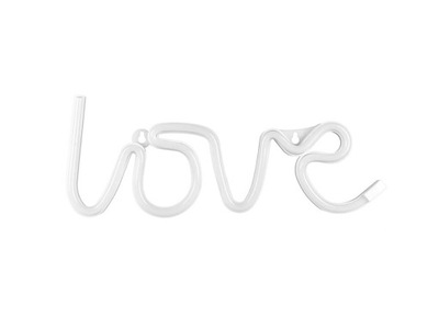 Неоновый надпись Love LED - 1 штук .