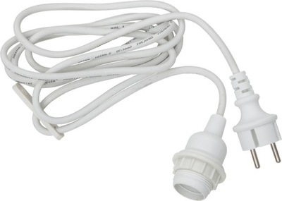 шнурок Декоративный с корпус E27 ??? ламп накаливания IP44