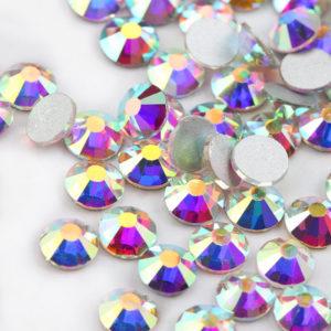 Cyrkonie szklane 144 szt Crystal AB ss20 - 1 gros