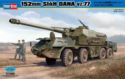 HOBBY BOSS 152mm ShkH DANA vz.77