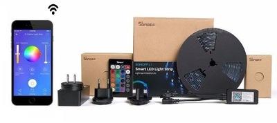 Sonoff L1-5М лента LED RGB газа Wi-fi пульт 5м