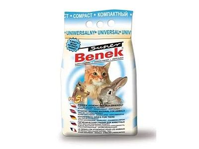 Super Benek Uniwersalny Compact żwirek dla kota 5l