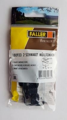 Фаллер 180933 Контейнеры для мусора 2 штук . черные
