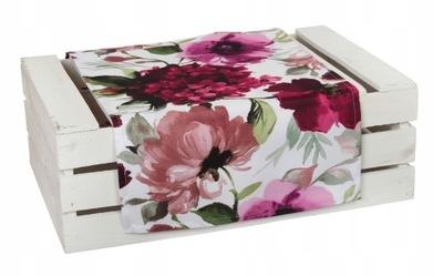 Скатерть протектор дизайн Узор  40 /140 цветы розочки
