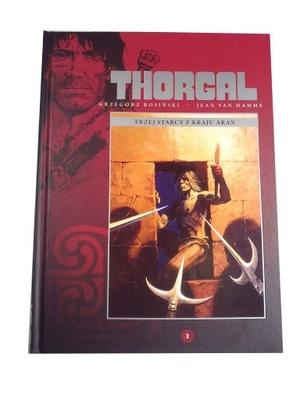 THORGAL HACHETTE 3. TRZEJ STARCY Z KRAJU ARAN