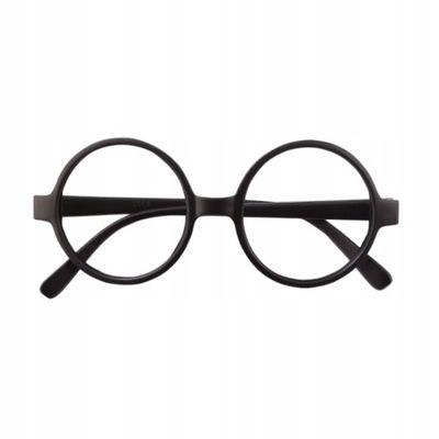 OKULARY Okrągłe Harry Potter Strój Przebranie