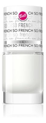 Bell So French Trwały lakier do paznokci (01) 8 ml