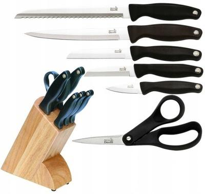 комплект ножи ? блоке Fiskars Devils Kitchen 5 штук .
