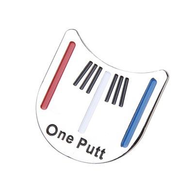 Marker do piłki golfowej z klipsem na kapelusz