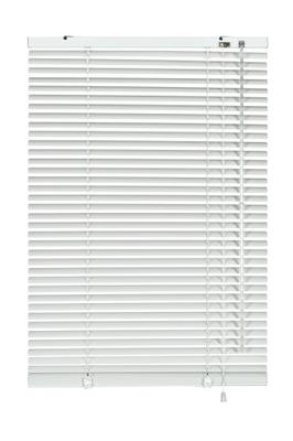 Żaluzja aluminiowa biała 25 mm 105 x 175 cm