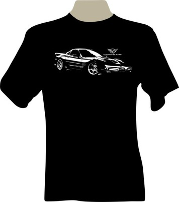 KOSZULKA T-shirt z nadrukiem chevrolet CORVETTE C5
