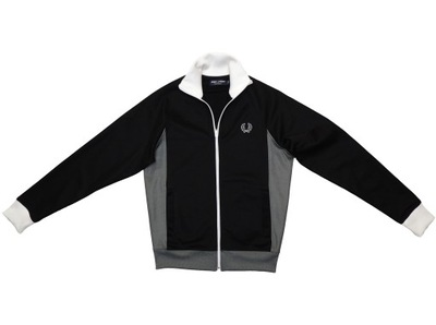 FRED PERRY J6235 SIDE PANEL HOODIE BLUZA _ PREMIUM