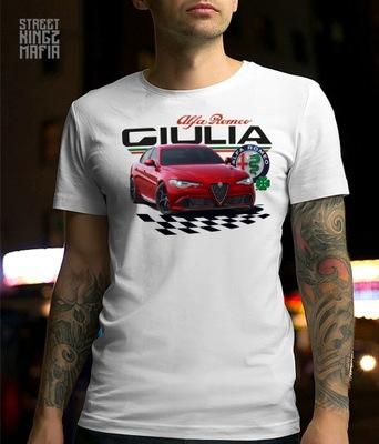 T-SHIRT - KOSZULKA - ALFA ROMEO - GIULIA RACING