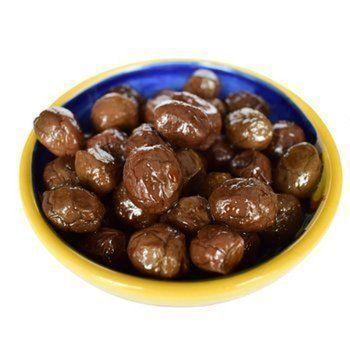 Оливки черные в оливковом масле EV, Nocellara, 500? итальянские