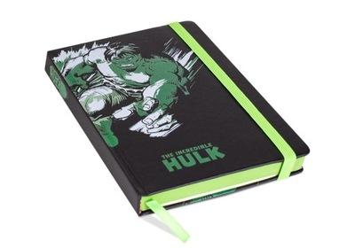 Marvel Retro Hulk Notes Skórzany A5 Linie 120 kart