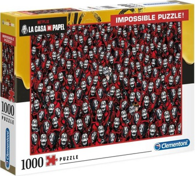 CLEMENTONI Puzzle 1000 ELEM La Casa De Papel 39527