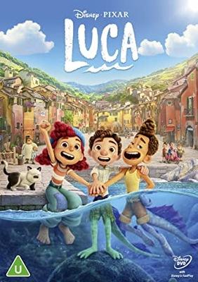 LUCA - DVD Polski Dubbing DISNEY FOLIA NOWOŚĆ 2021