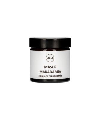 Masło makadamia z olejem macadamia 60ml La-Le