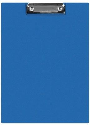 Clipboard teczka PVC A5 niebieski podkład