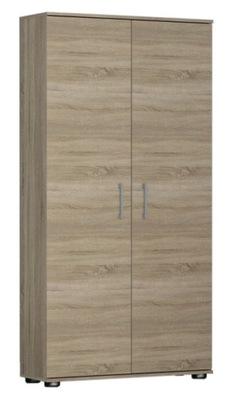 Regał Szafa biurowa G 60 cm 2 drzwi sonoma
