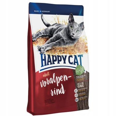 Happy Cat Fit & Well Adult Wołowina 300G