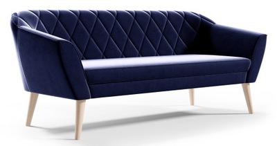 Sofa Skandynawska 3 osobowa GLORIA styl skand