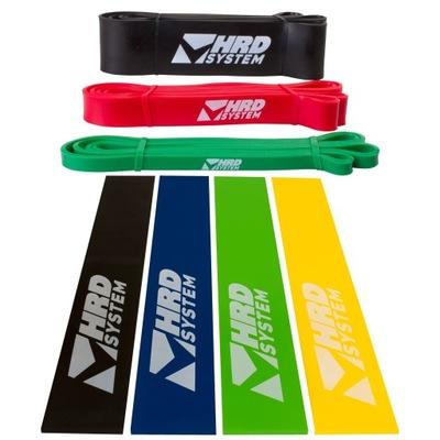 Auta gumičky na cvičenie HRD Pásky fitness