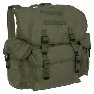 b3ad9ef2ab17b PLECAK wojskowy KOSTKA TORBA CHLEBAK 2W1 czarny - 7202424821 ...