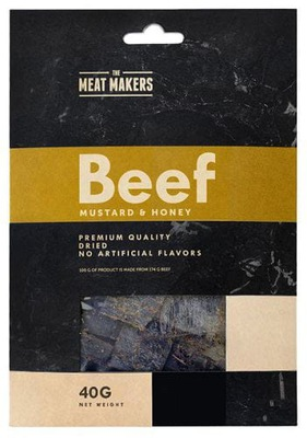 Suszona wołowina - Beef Mustard & Honey 40 g