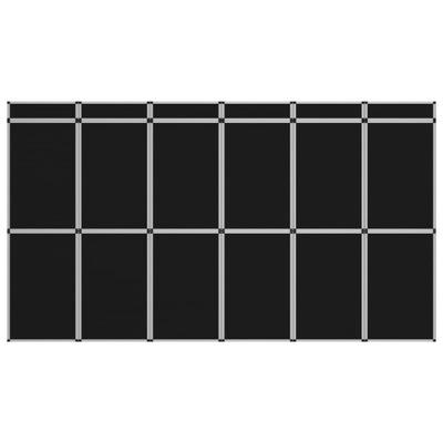 18-panelowa składana ścianka wystawiennicza, 362x2
