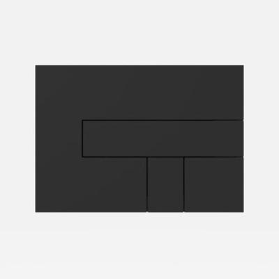 Przycisk spłukujący LOS do spłuczki SANIT Czarny