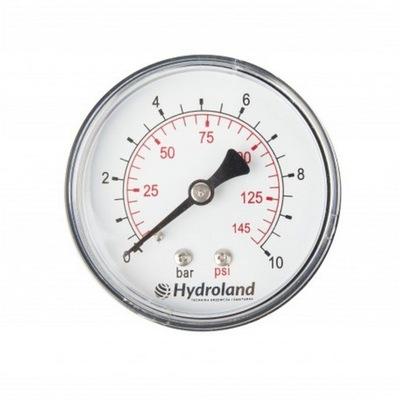 63 tlakomer 1/4 6 bar zadný Axiálny