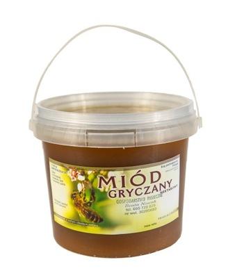 Мед гречка свежий мед натуральный  1кг