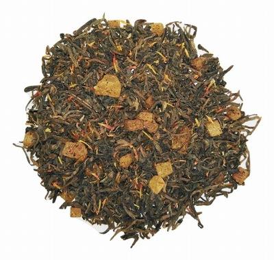 Herbata Pu-Erh Mango Papaya z Herbaciarni 50 gram.