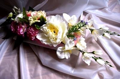 НС- декор - могила, кладбище, унп. Белый , бежевый , fiol