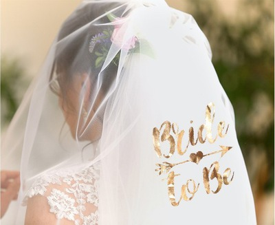 Welon Bride biały wieczór panieński Panna Młoda