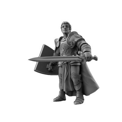 Figurka CGF Sir Keane przyboczny króla D&D RPG