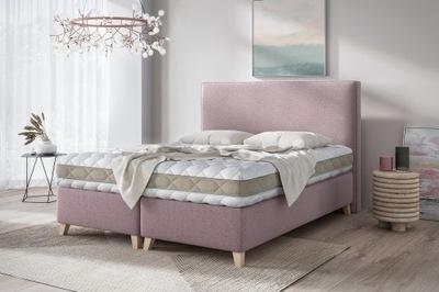 Łóżko tapicerowane DINO + stelaż +pojemnik 180X200