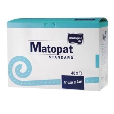 Bandaż nieelastyczny Matopat Standard 10cm 40szt
