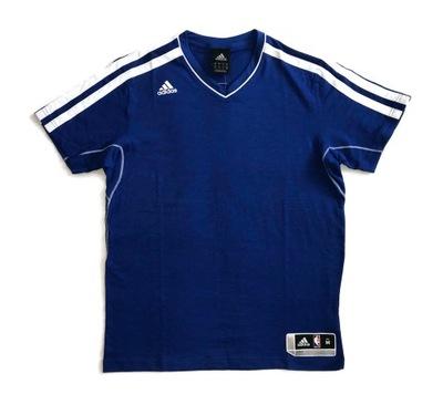 Niebieska koszulka Adidas Performance NBA XXL